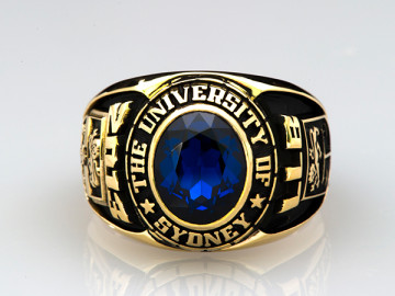 UNIVERSITY OF SYDNEY LAW ACHIEVER GRADUATION RING