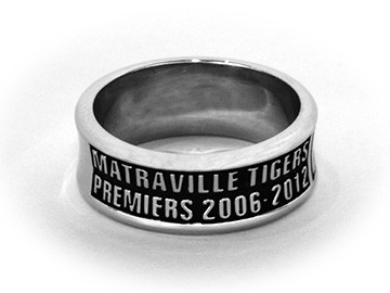 Champion Championship Matraville Tigers Premiers Ring