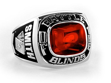 Champion Championship Poker Ring Battle of the Blinds Aces Ring
