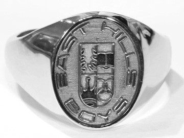 East Hils Boys Signet Ring 2