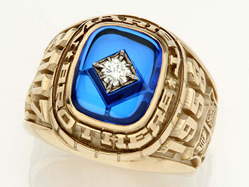 Marist Brothers School Achiever Ring 2