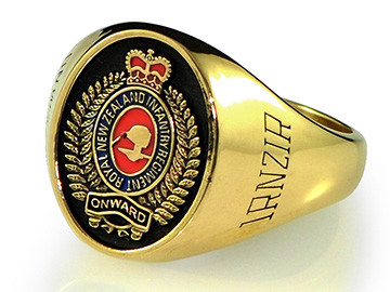 New Zealand Infantry Signet Ring