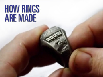 how rings are made